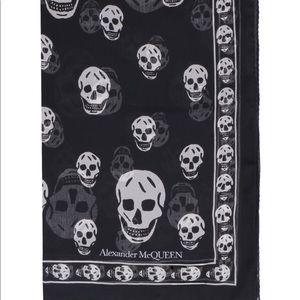 Silk Alexander McQueen scarf
